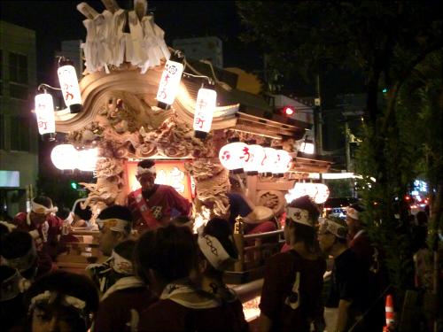 大阪市城東区の祭りの神輿06