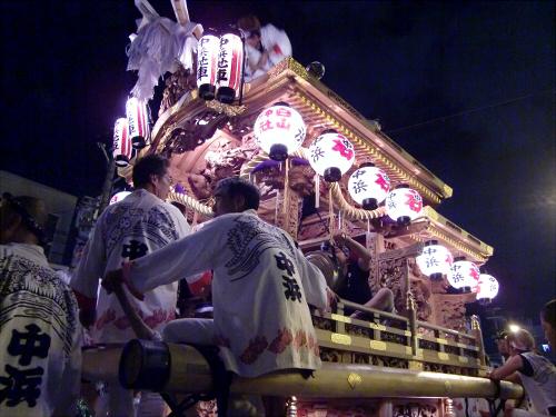 大阪市城東区の祭りの神輿07