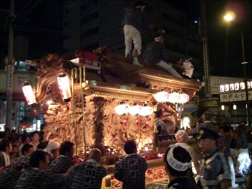 大阪市城東区の祭りの神輿09