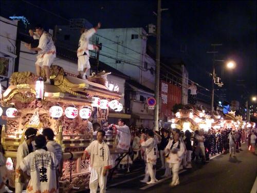 大阪市城東区の祭りの神輿10