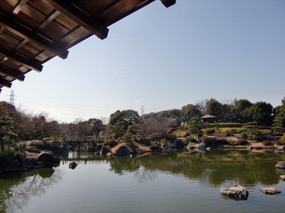 百舌鳥大仙公園の日本庭園02