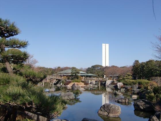 百舌鳥大仙公園の日本庭園08