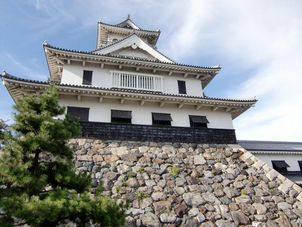 長浜城と近くの湖岸4