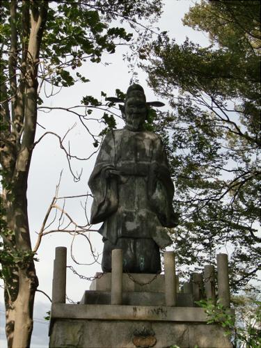 長浜城と近くの湖岸6