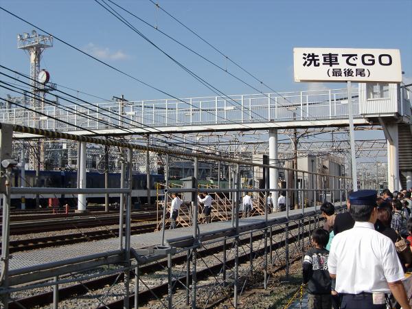 京阪寝屋川車両基地ファミリーレールフェア10