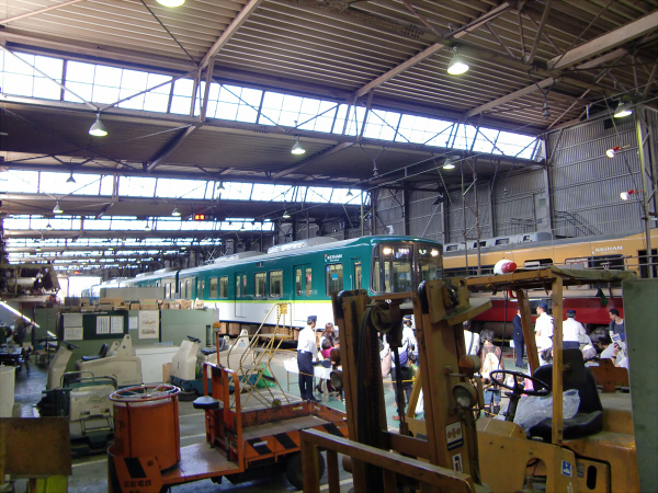 京阪寝屋川車両基地ファミリーレールフェア14