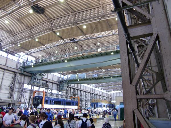京阪寝屋川車両基地ファミリーレールフェア15