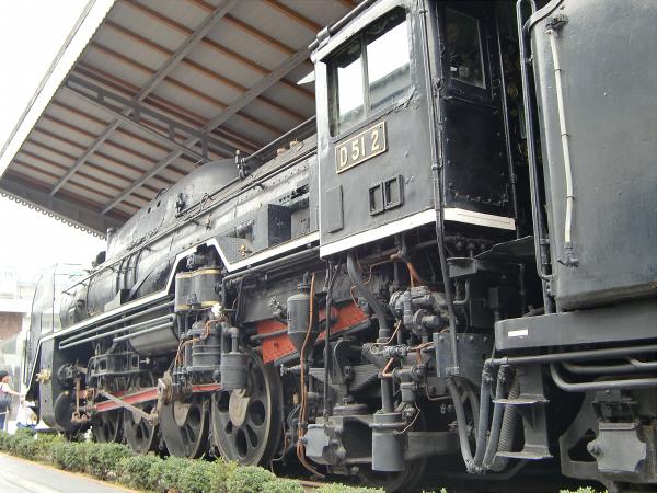 お盆に交通科学博物館1-6