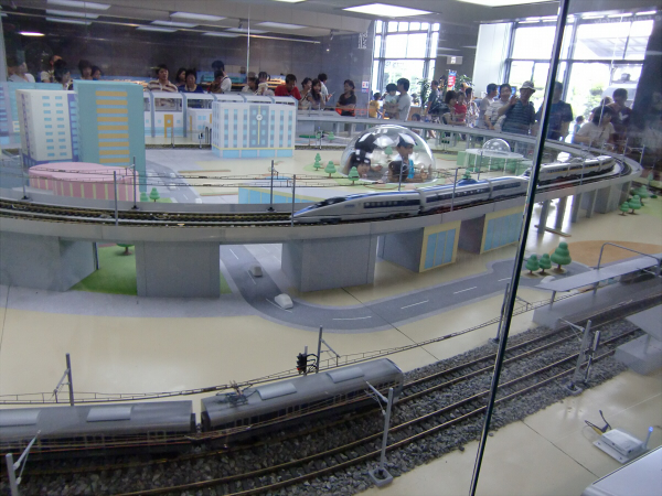 お盆に交通科学博物館2-4