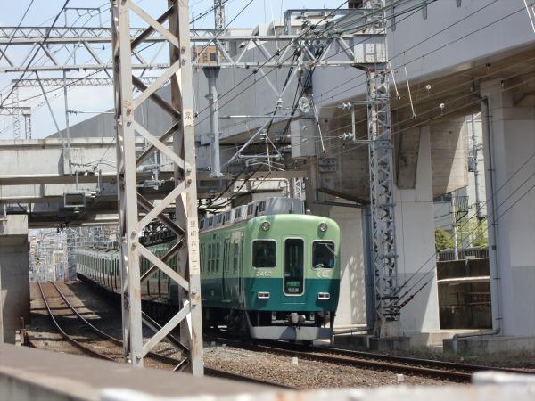 桜のついでに京阪電車2