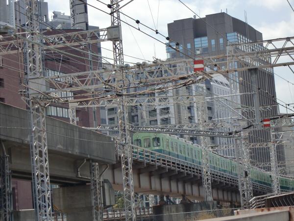 桜のついでに京阪電車3