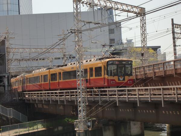 桜のついでに京阪電車4