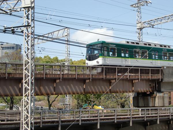 桜のついでに京阪電車5