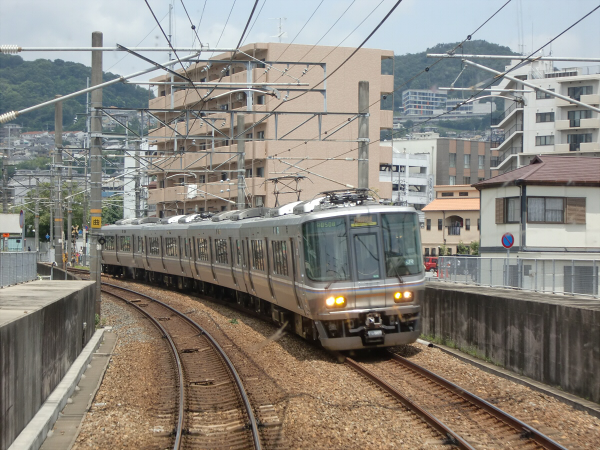三田の永澤寺に行った時の電車の写真1