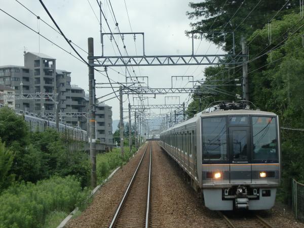 三田の永澤寺に行った時の電車の写真3