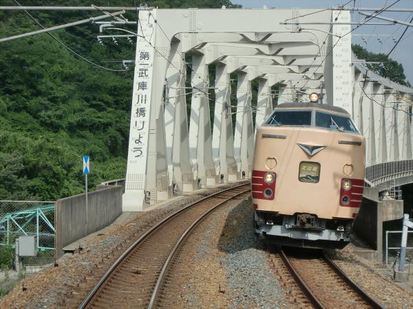 三田の永澤寺に行った時の電車の写真6