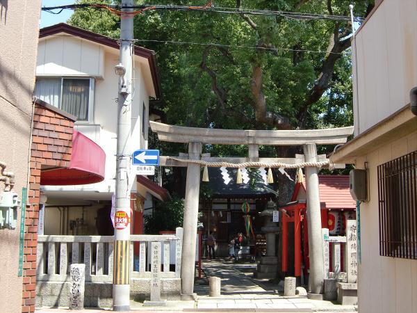 大阪天下茶屋の安倍晴明神社での写真2
