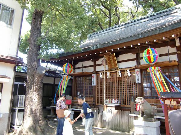 大阪天下茶屋の安倍晴明神社での写真3