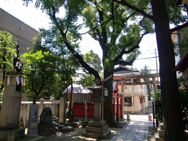 大阪天下茶屋の安倍晴明神社での写真4