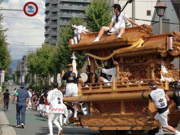 白山神社の大銀杏と祭り08