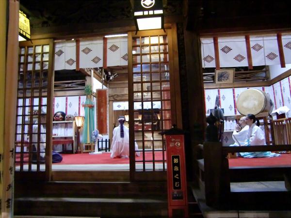 白山神社の大銀杏と祭り10