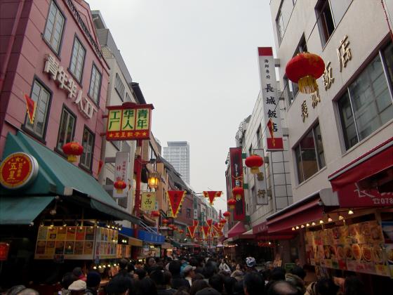 南京町春節祭2011-02