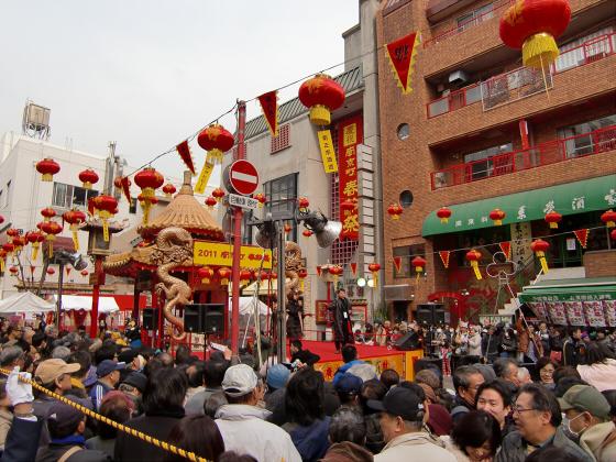 南京町春節祭2011-07