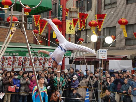 南京町春節祭2011-08
