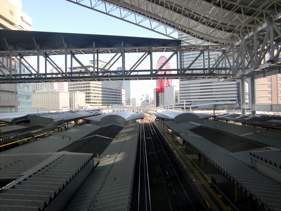大阪駅でトワイライトエクスプレス撮影01