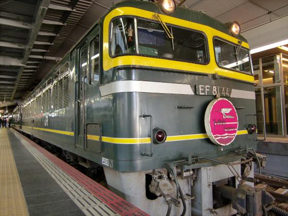 大阪駅でトワイライトエクスプレス撮影02