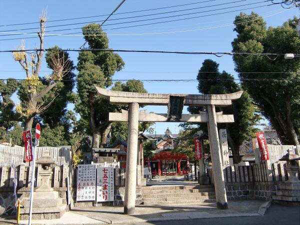 八尾近辺の神社など1