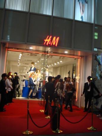 H&M 戎橋店