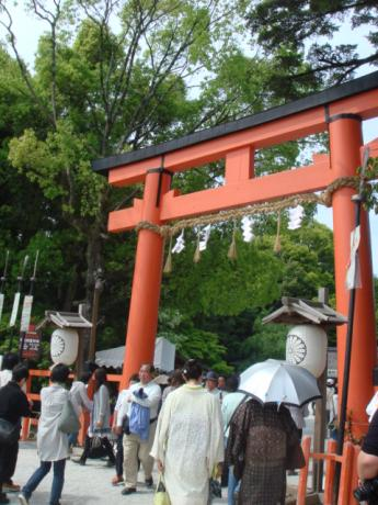 上賀茂神社へ!