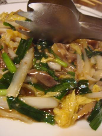 白菜と豚の炒め物!