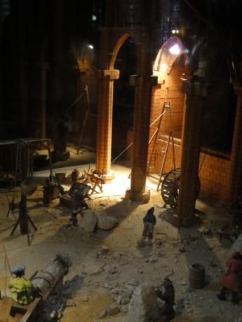 大聖堂の造営模型