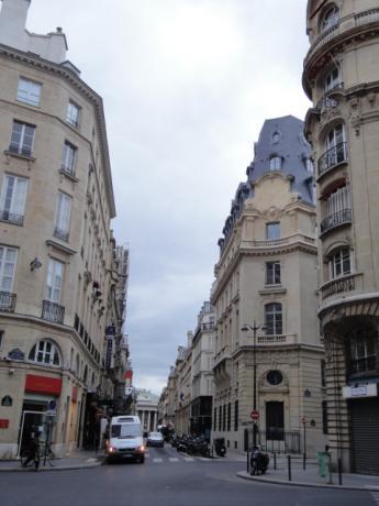 パリの町並み!
