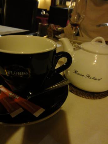 温かい紅茶で。。。