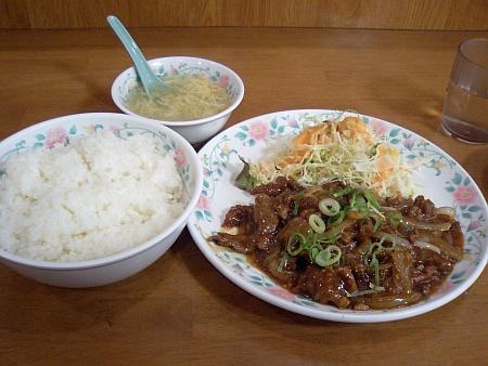 30番焼肉定食