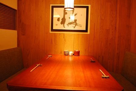 テーブル一席