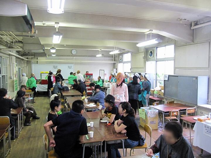 旧二葉小学校まちの文化祭。