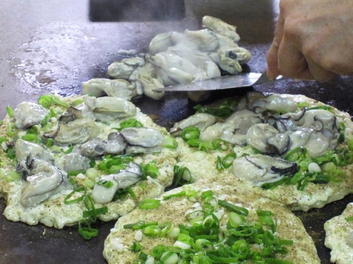 やっちゃん、牡蠣お好みの会。