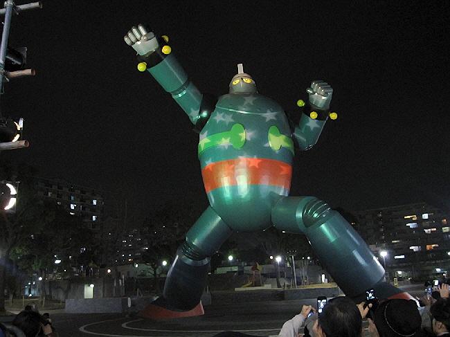 土曜日のちょい早クリスマス@板宿商店街と鉄人ライトアップ@新長田♪