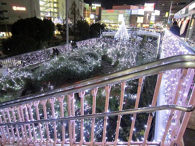 三ノ宮駅にて。(^^♪
