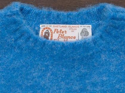 PETER BLANCE/ピーターブランスのシャギードッグセーター。