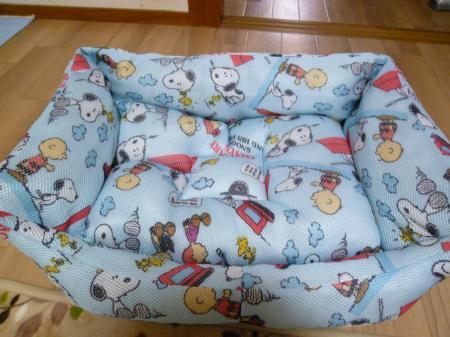 スヌーピーのベッド
