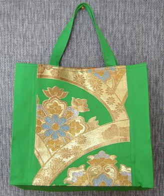 帯バッグ緑 1