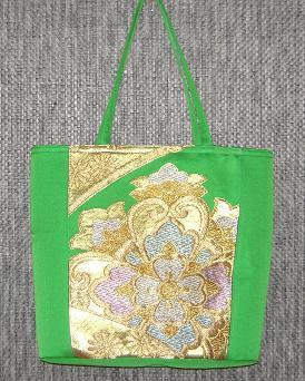 帯バッグ緑 2