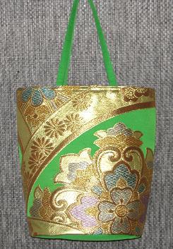 帯バッグ緑 3