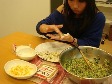 10.12.10餃子作り