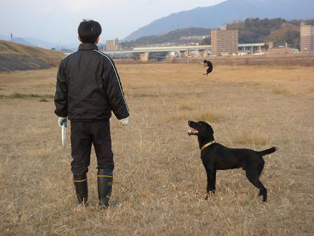 2011 1.22河川敷